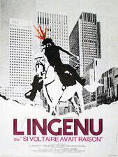 Affiche 60x80cm L'INGENU (1972) Renaud Verley, Corinne Marchand, Jean Lefebvre
