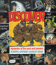 DISCOVER: MYSTERIES OF THE PAST & PRESENT  A Royal Ontario Museum Book Science