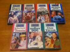 WALT DISNEY'S STUDIO FILM COLLECTION LOT OF (7) VHS TAPES