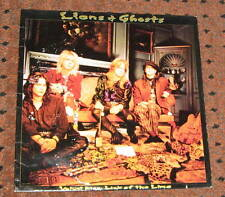 Lions & Ghosts Velvet Kiss Lick Of The Lime LP Classic Rock Vintage Vinyl RARE