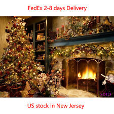 7X5FT Christmas Background Photography Backdrop US Stock 2-8 Days Delivery SD121