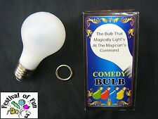 Magic Light Bulb ~ Uncle Fester Style ~ Trick Comedy Prop ~ Halloween ~ Light Up