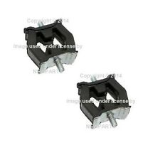 BMW E38 E39 Set of 2 Front Exhaust Hangers 18211745426 FEBI