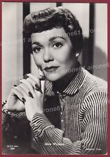 JANE WYMAN 02 ATTRICE ACTRESS CINEMA MOVIE STAR PEOPLE Cartolina FOTOGRAFICA