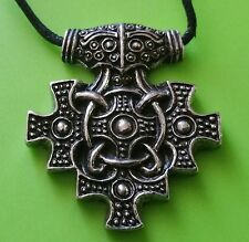 York Hiddensee Style Mjölnir Thor's Hammer Pewter Pendant Necklace
