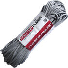 Silver Gray 100' 550 Paracord Mil Spec Type III 7 Strand Parachute Cord
