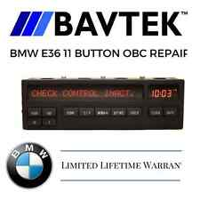BMW E36 8 11 BUTTON ON BOARD COMPUTER (OBC) 318i 328is M3- PIXEL REPAIR SERVICE