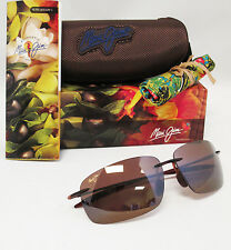 New Maui Jim Polarized BREAKWALL Rootbeer / HCL Bronze Sunglasses H422-26