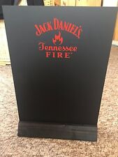 JACK DANIEL'S FIRE  WOODEN BASE MENU BOARD