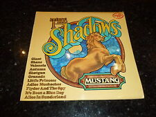 THE SHADOWS - Mustang - 1970s UK 12-track Vinyl LP