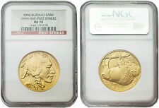 USA 2006 Buffalo 1 oz Gold Coin NGC MS70 First Strikes