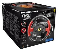 NUOVO Thrustmaster Ferrari T150 4168054 RACING WHEEL + PEDALS PER PC PS3 PS4