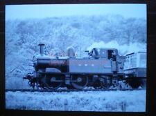 PHOTO  GWR COLLETT 14XX 0-4-2T LOCO 1420 & DEVON BELLE OBSERVATION CAR