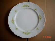 Bishop And Stonier Imperial Semi Porcelain Dinner Plate FLORAL