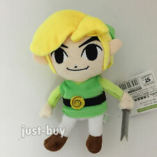 The Legend of Zelda Character Plush Link Soft Toy Doll Stuffed Animal Teddy 7""