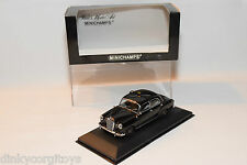 . MINICHAMPS MERCEDES BENZ 180 PONTON TAXI BLACK MINT BOXED RARE SELTEN