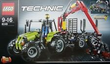LEGO TECHNIC INSTRUCTIONS MANUAL 8049 TRACTOR AND LOG LOADER Retired New 2 books