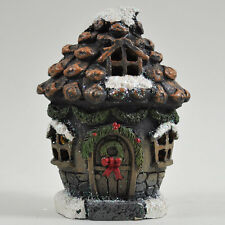 Magical Pine Cone House Garden Ornament LED LIGHT Christmas Home Elf Pixie 39199