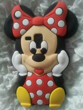 Silicone Cover per cellulari MINNIE1 RED SAMSUNG GALAXY S DUOS S7562/TREND 7560