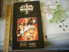 a941981 HK Double Movie VCD Box Set Star Wars Phantom Menace 4 Postcards 星球大戰 前傳