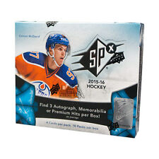 2015-16 Upper Deck SPX Hockey Hobby Box