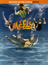 McFly Motion in the Ocean Sheet  Music Book Piano GUITAR VOCALS PVG STAR GIRL