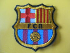 BARCELLONA Football CLUB sew Embroidered PATCH Badge toppa ricamatata ricamo