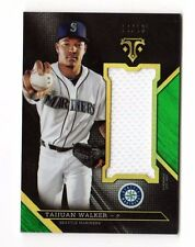 TAIJUAN WALKER MLB 2016 TOPPS TRIPLE THREADS UNITY JUMBO RELIC #/18 (MARINERS)