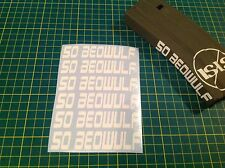 "AR Magazine ""50 BEOWULF"" Sticker Pack, 6 Pack, AR, AK, GREY!"