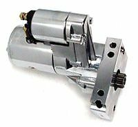 CHEV BB HI TORQUE CHROME REDUCTION STARTER MOTOR 3HP SUIT SMALL- LARGE FLY WHEEL