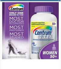 Centrum Silver ULTRA Women 50+ 250 Tablets  PURPLE TOP- FREE WORLDWIDE SHIPPING