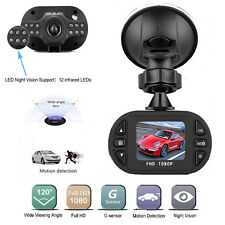 Full HD 1080P Car DVR Vehicle Mini Camera Video Recorder Dash Cam Night Version