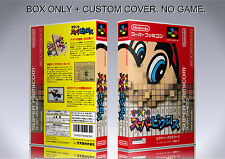 MARIO PICROSS. JAPAN VERSION. Box/Case. Super Nintendo. BOX + COVER. (NO GAME)