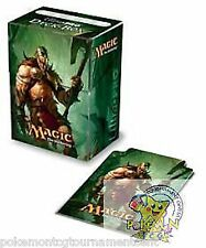 Ultra Pro deck box M12 Garruk, Primal Hunter Planeswalker card holder Mtg