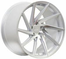 18X8.5 18X9.5 +40 F1R F29 5X112 SILVER WHEEL Fits AUDI S4 S5 RS4 RS5 STAGGERED