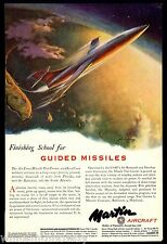 1951 MATADOR MISSILE Martin Aircraft AD Leaves Florida Test Center over Bahamas