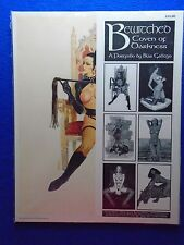 BEWITCHED COVEN OF DARKNESS PORTFOLIO BY BLAS GALLEGO ~ SQP 1994 ~ HARD TO FIND
