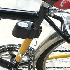 Bicycle Bike Motorbike Cycling Alarm Anti-theft Digital Code Lock Loud Sound QT