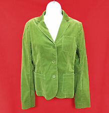 THEORY Womens Green Stretch Corduroy Fitted Blazer Jacket Coat 8 M