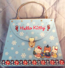 Hello Kitty Christmas Themed Metal Purse Keepsake Box