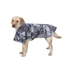 Rain Jacket for Dog XS Black Camo Waterproof