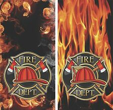 Fire Fighter Department Cornhole Board Game Wrap Corn Toss 3M Decal Set = (PICK)