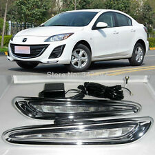 2x High Power Exact Fit LED Daytime Running Lights Lamps For 2010-2013 Mazda3