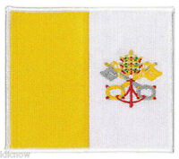 "Vatican (embroidered) Patch 12.5 X 8.5CM  (5"" X 3 1/2"") approx"