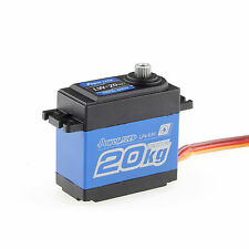 Power HD LW-20MG High-Torque Metal Gears Waterproof Servo 20kg/0.16s