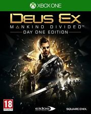 Deus Ex: Mankind Divided Day One Edition (Xbox One) NEW & Sealed