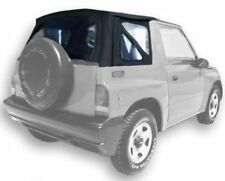 1995-1998 Geo Tracker and Suzuki Sidekick Soft Top & Tinted Windows Black