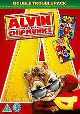 Alvin and the Chipmunks 1 and 2 Double Pack [DVD], Good DVD, Jason Lee, David Cr