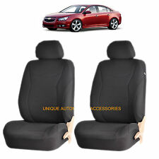 BLACK SPEED AIRBAG COMPATIBLE LOWBACK SEAT COVERS for CHEVROLET IMPALA MALIBU