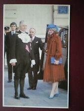 POSTCARD ROYALTY PRINCESS DIANA LUNCHEON AT THE GUILDHALL ROYAL WEDDING 1981